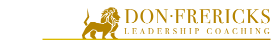 Don Frericks Leadership Coaching